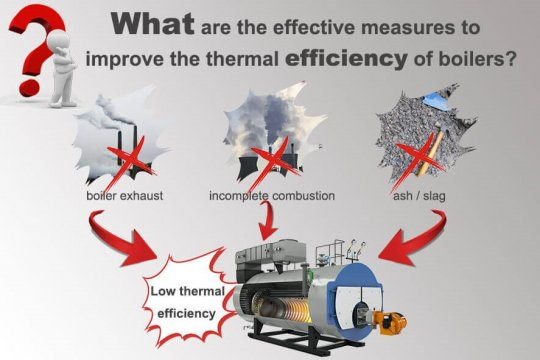 Improve Industrial Boilers Thermal Efficiency