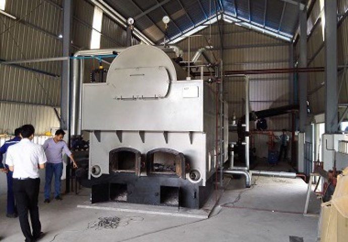4Th Wood Fired Steam Boiler in Yangon