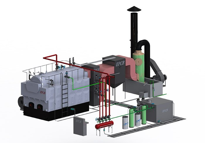 Single Drum Fixed Grate Manual Coal Fired Steam Boiler