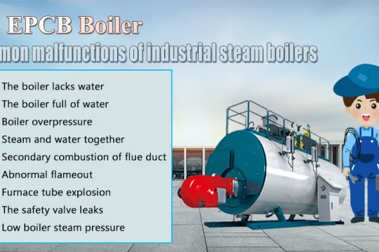 Industrial Steam Boiler Common Malfunctions Reasons and Solutions